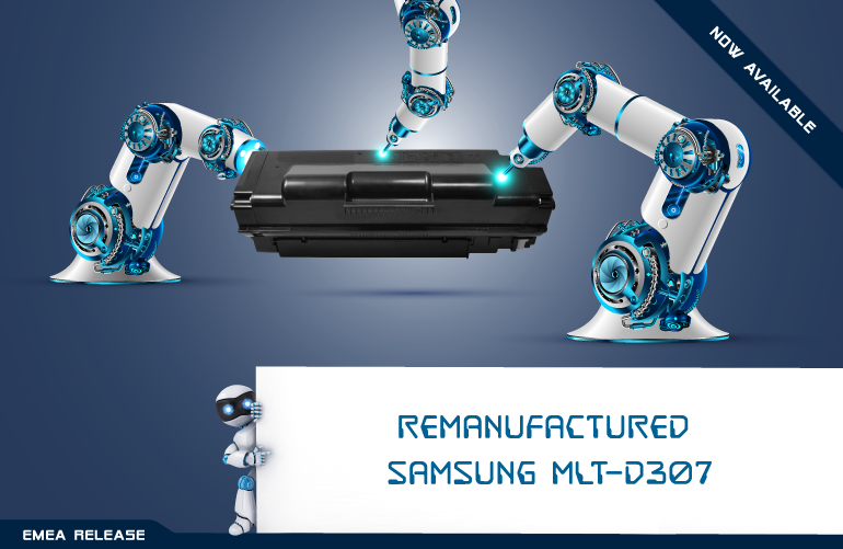 Meet your new Samsung MLT-D307 toner cartridges available from Clover!
